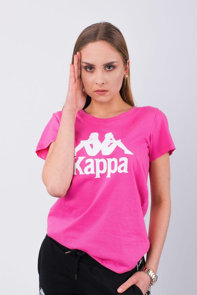 Kappa EDDA T-SHIRT 590 CARMINE ROSE 305026-590