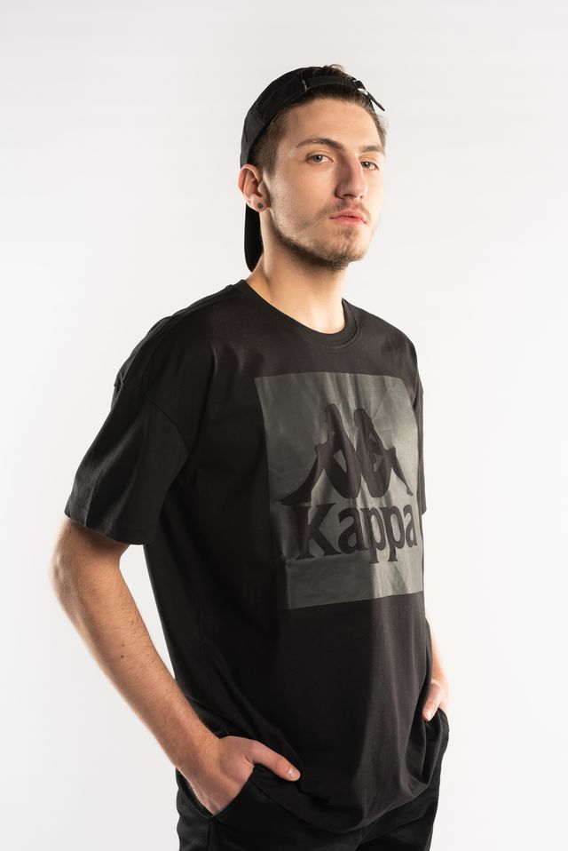 Kappa EDWARD T-SHIRT 005 BLACK 305000-005