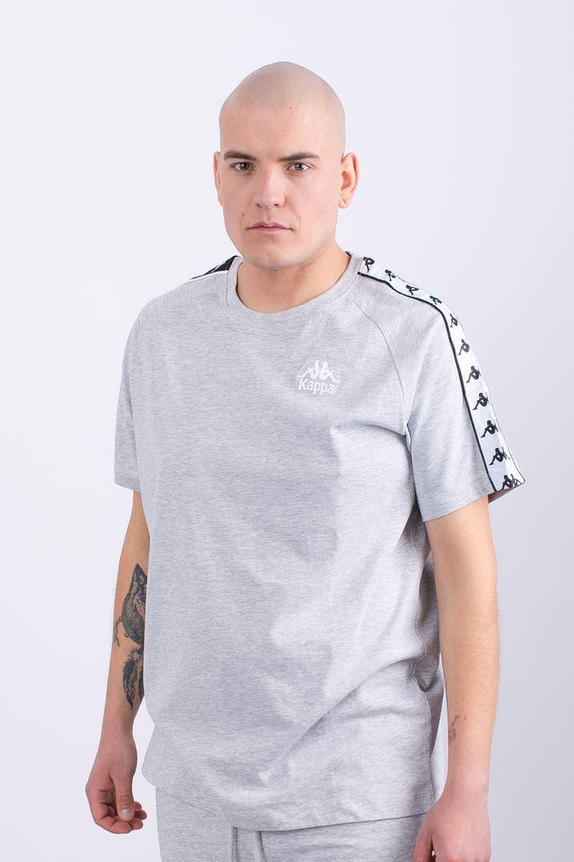 połowa ceny moda najnowszy Koszulka Kappa EMANUEL T-SHIRT 18M GREY MELANGE - eastend.pl
