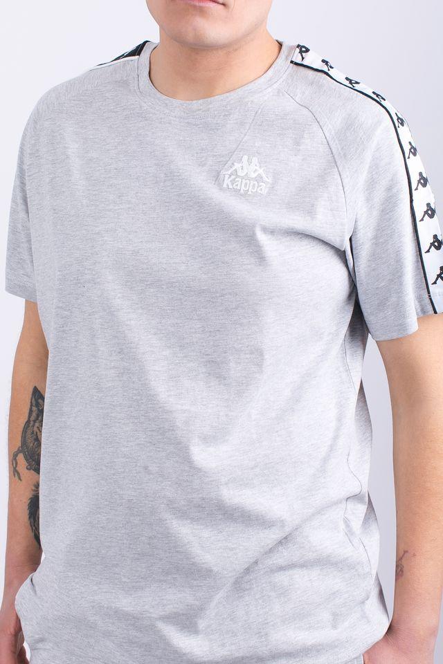 bliżej na informacje o wersji na online tutaj Koszulka Kappa EMANUEL T-SHIRT 18M GREY MELANGE - eastend.pl