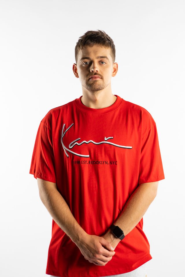 Karl Kani SIGNATURE TEE 148 RED 6060148