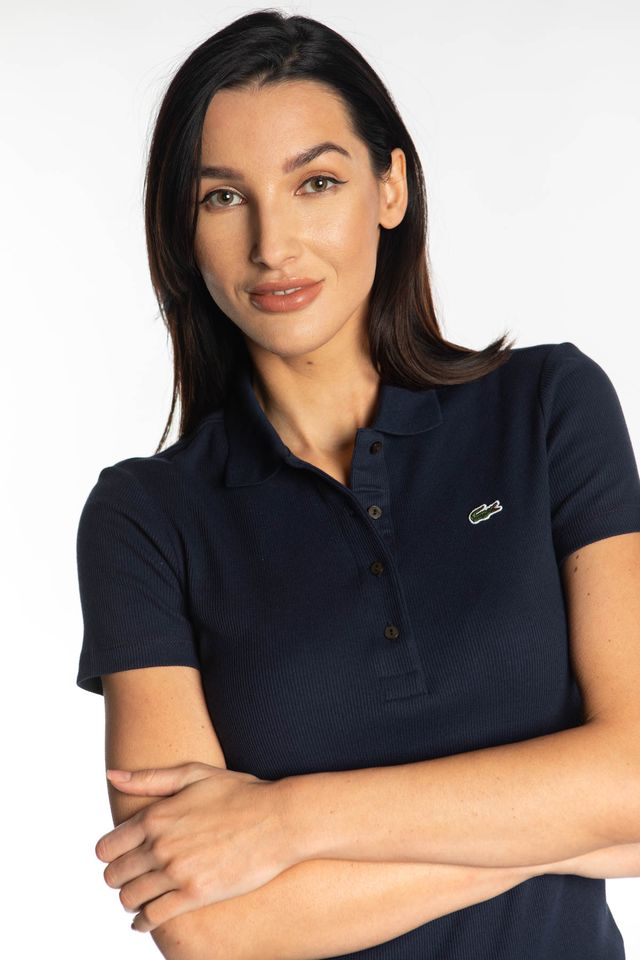 NAVY WOMEN POLO 166