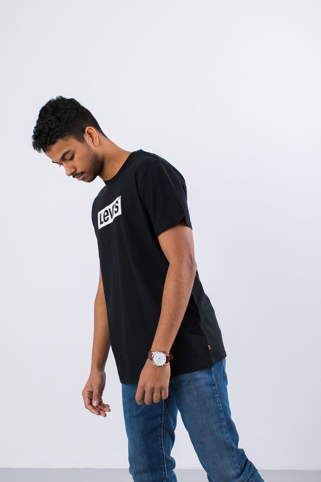 Koszulka Levi's  <br/><small>GRAPHIC SET-IN NECK 2 TEE 0427 LEVIS LOGO BLACK </small>  22491-0427