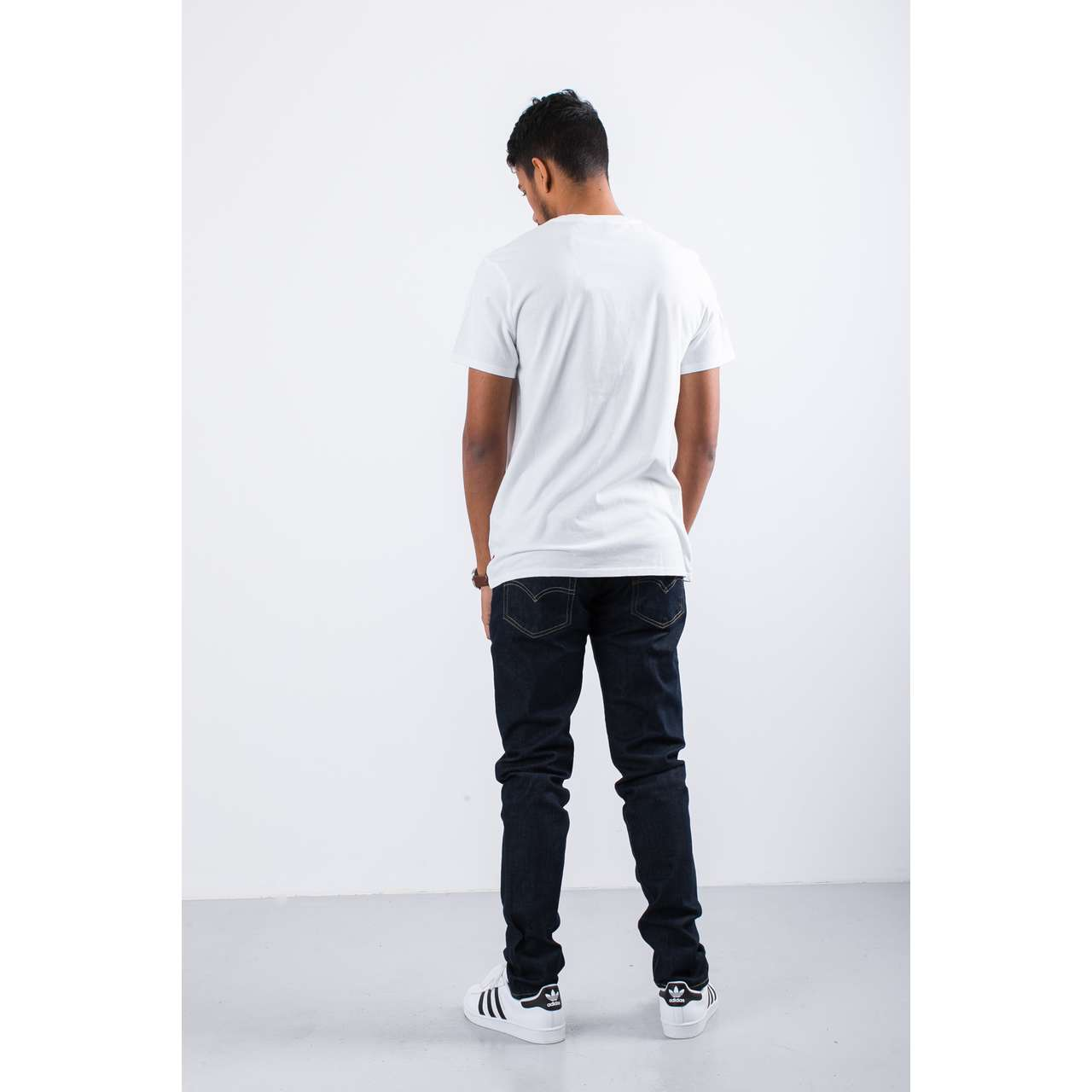 Koszulka Levi's  <br/><small>GRAPHIC SET-IN NECK 2 TEE 0424 LEVIS LOGO WHITE </small>  22491-0424
