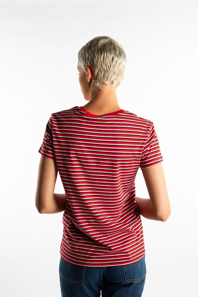Koszulka Levi's  <br/><small>PERFECT TEE 0039 KORONIS BRILLIANT RED </small>  39185-0039