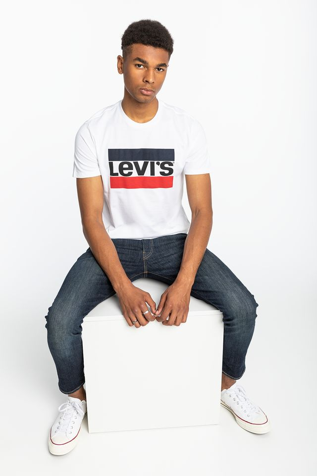 Levi's SPORTSWEAR LOGO GRAPHIC 0000 WHITE 39636-0000