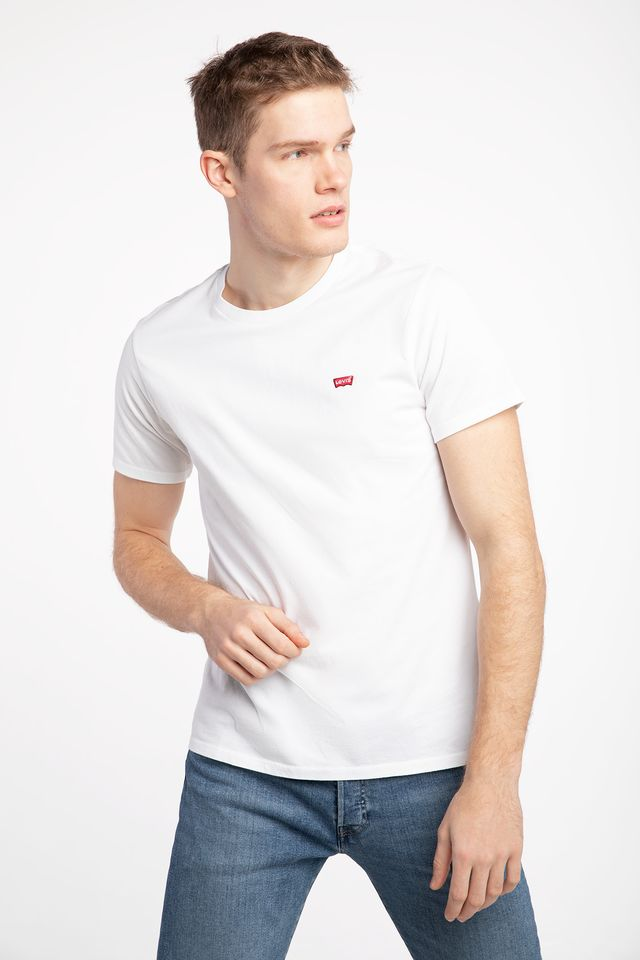 Levi's ORIGINAL TEE 0000 COTTON/PATCH WHITE 56605-0000