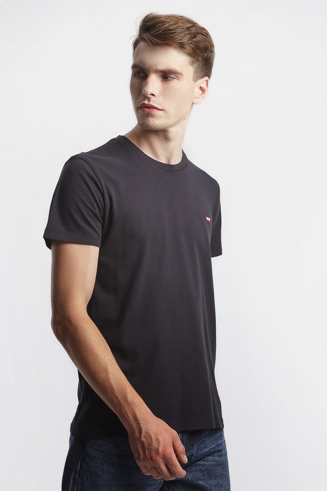 Levi's ORIGINAL TEE 0009 COTTON/PATCH BLACK 56605-0009
