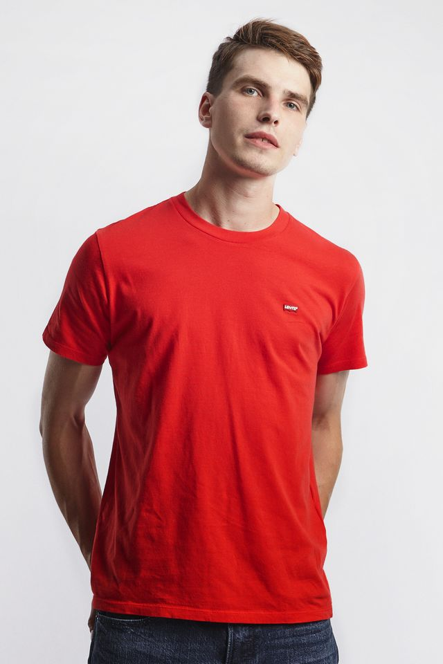 Levi's ORIGINAL HOUSEMARK TEE 0025 BRILLIANT RED 56605-0025