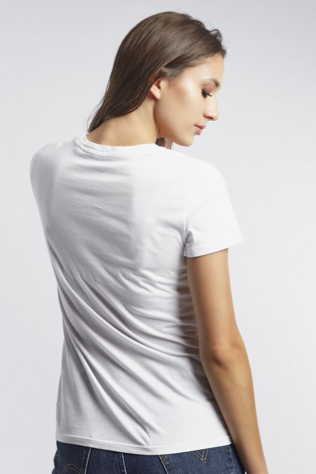 Koszulka Levi's  <br/><small>THE PERFECT TEE 0370 NEW BOX TAB PERFECT 3 WHITE </small>  17369-0370
