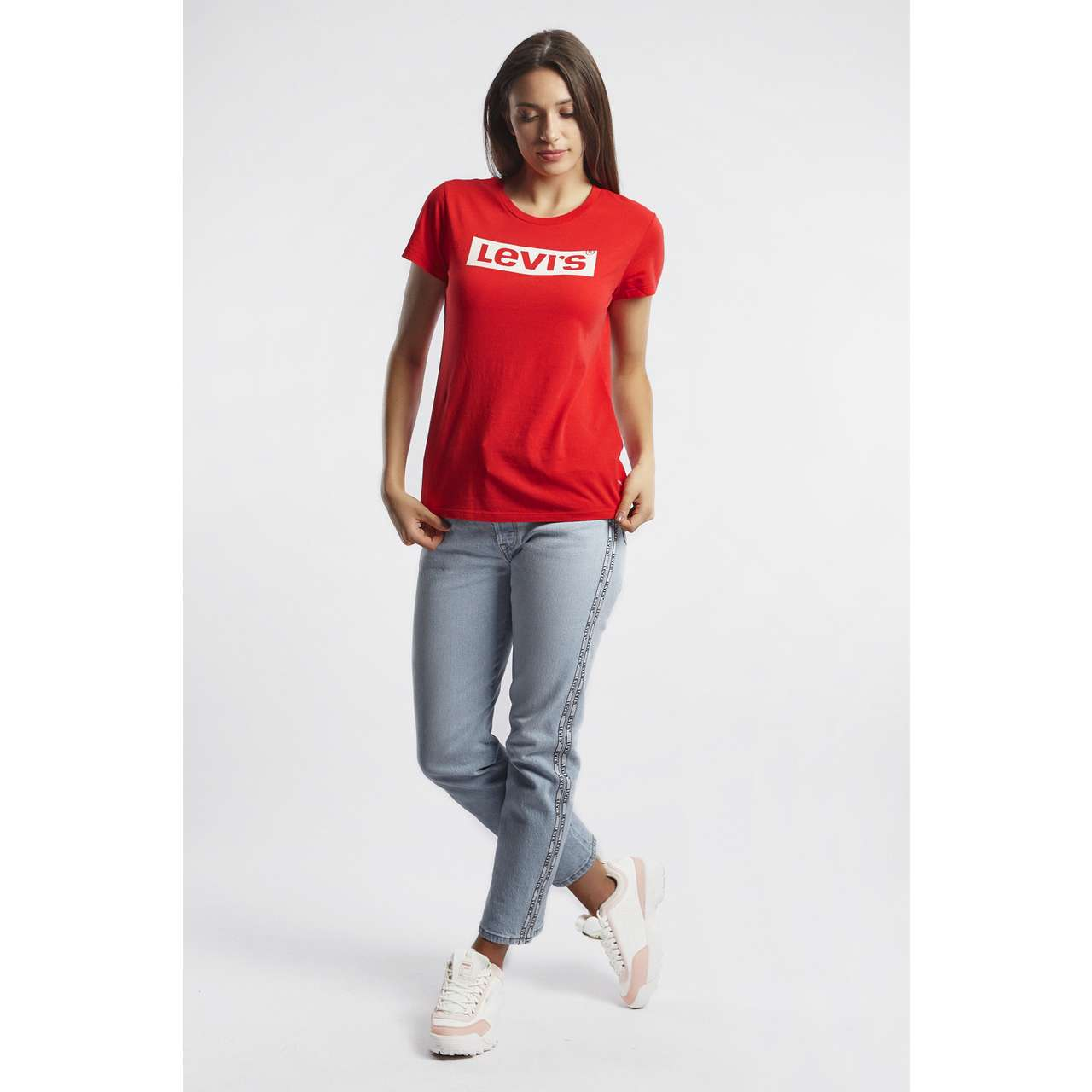 Koszulka Levi's  <br/><small>THE PERFECT TEE 0635 RED </small>  17369-0635