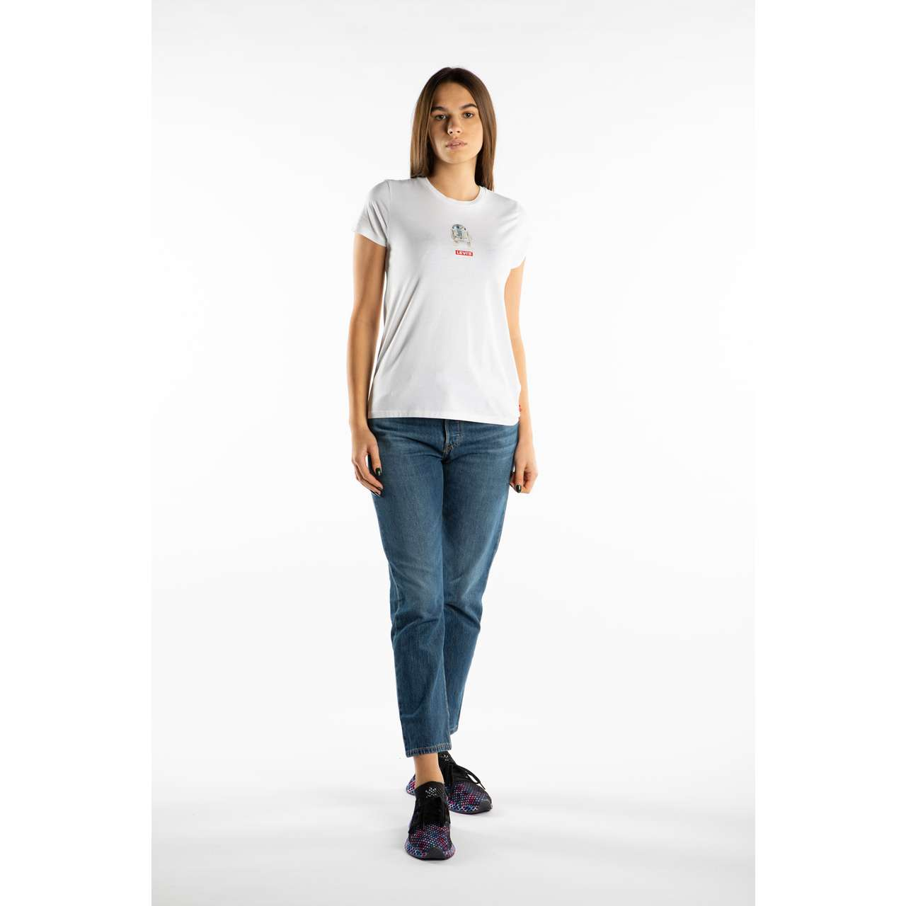 Koszulka Levi's  <br/><small>STAR WARS PERFECT TEE 0875 WHITE </small>  17369-0875