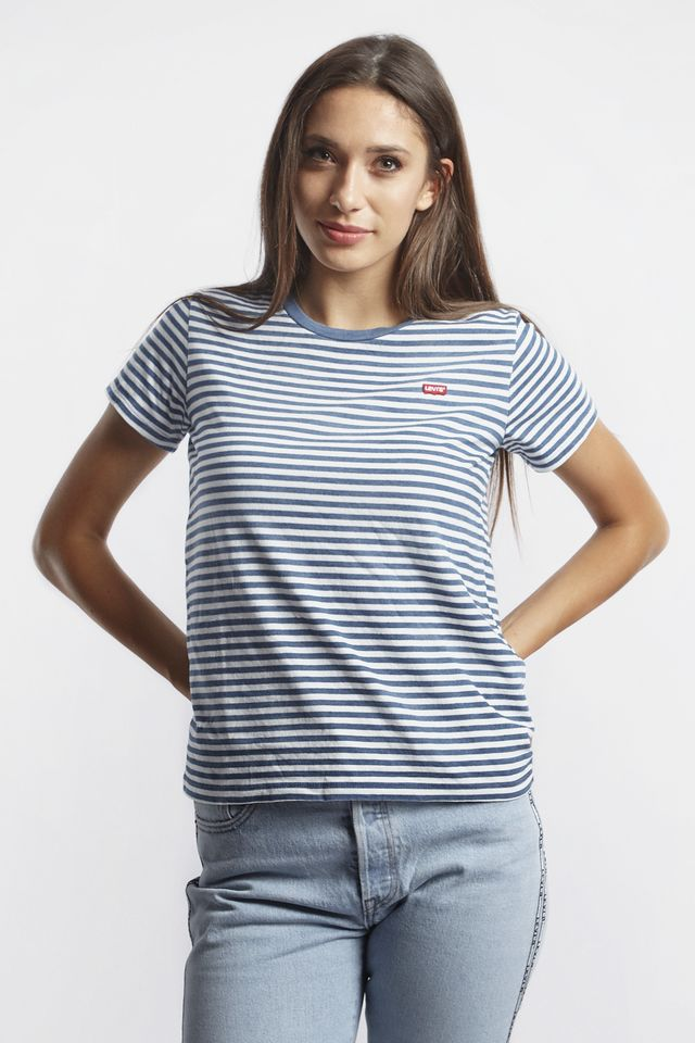 Levi's THE PERFECT TEE 0033 RAITA INDIGO 39185-0033