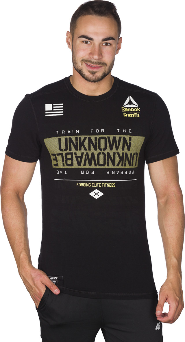 Reebok RCF Burnout Tee Black 848 AX8848