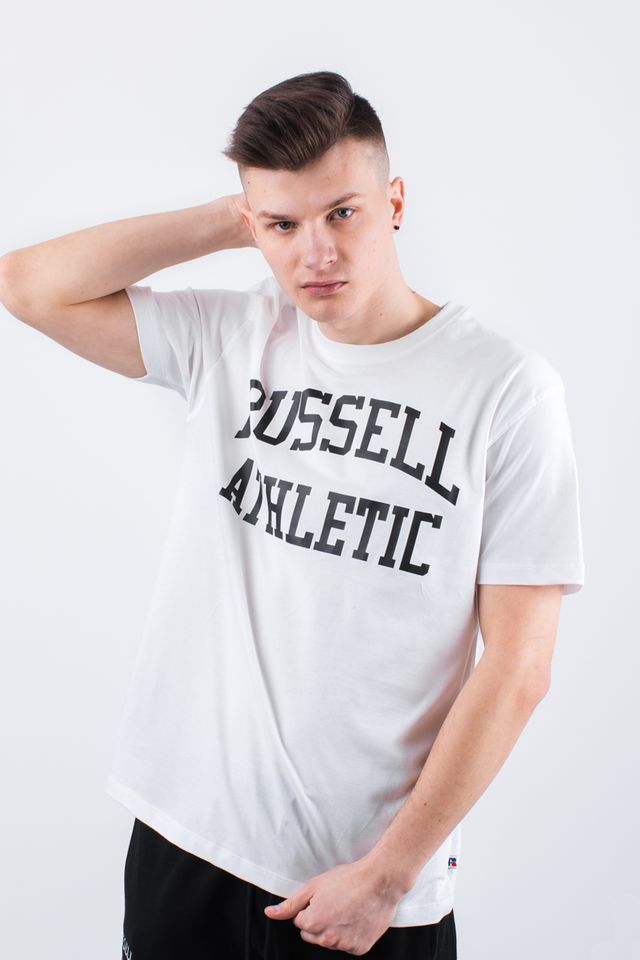 Russell Athletic CREW NECK TEE 001 WHITE A90021F-001