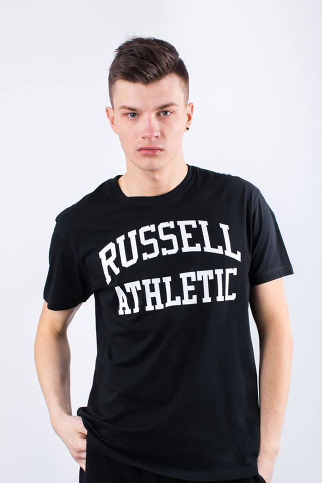 Russell Athletic CREW NECK TEE 099 BLACK A90021F-099