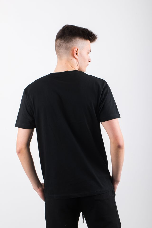 Koszulka Russell Athletic  <br/><small>CREW NECK TEE 099 BLACK </small>  A90021F-099
