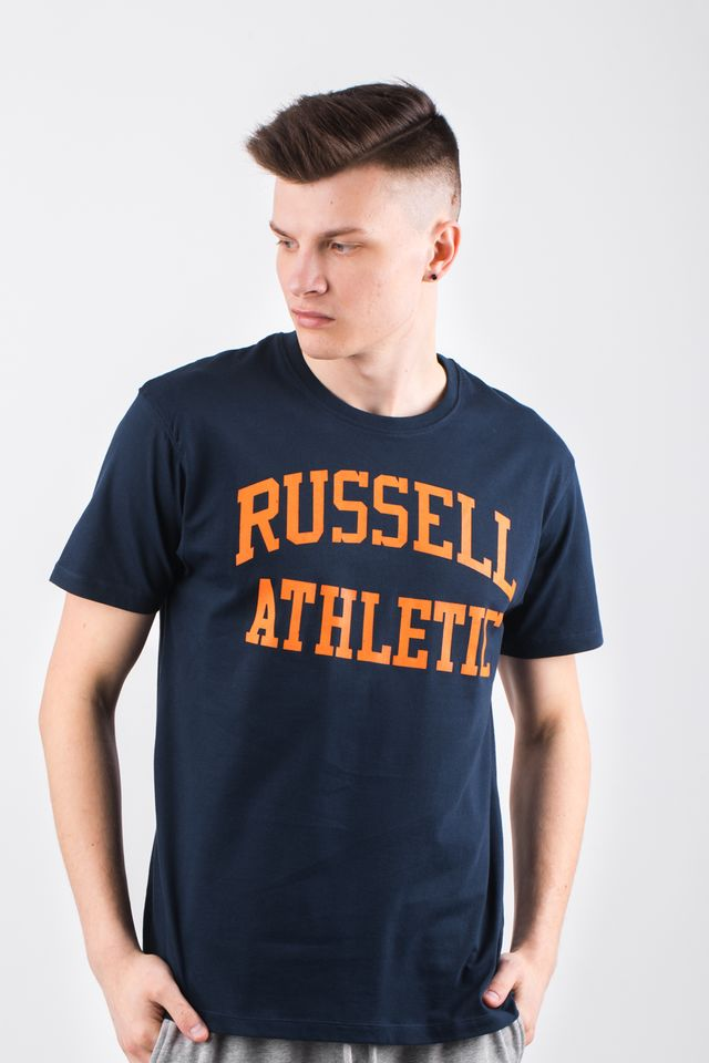 Russell Athletic CREW NECK TEE 290 NAVY A90021F-290