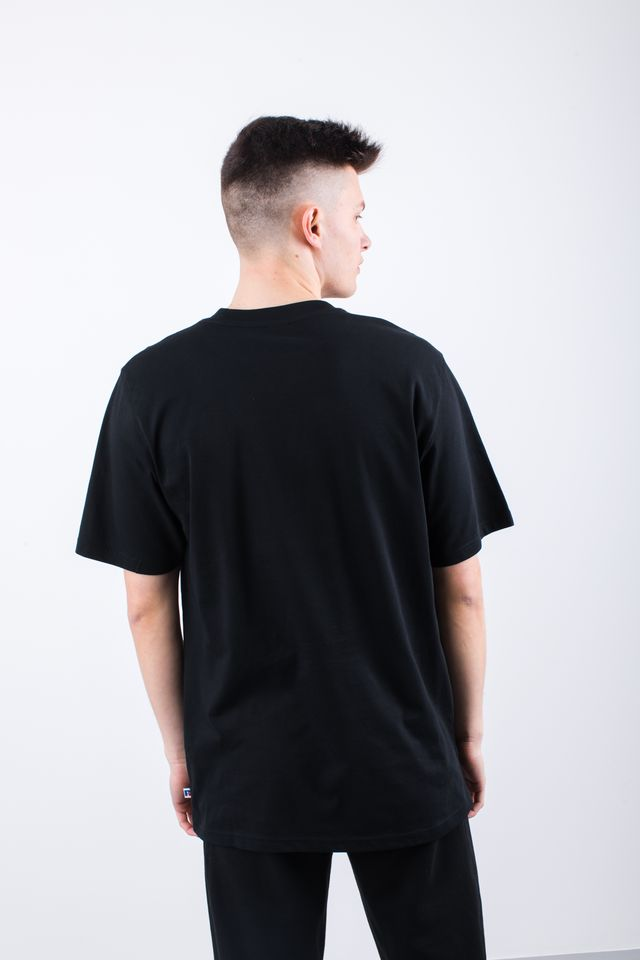 Koszulka Russell Athletic  <br/><small>FLOCK TEE 099 BLACK </small>  E96511-099