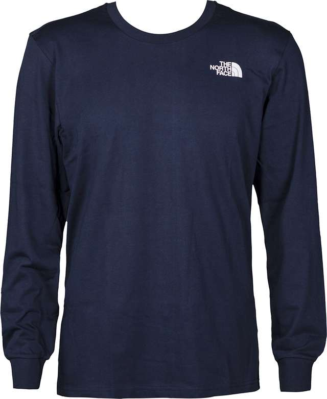 The North Face LONGSLEEVE SIMPLE DOME TEE URBAN NAVY T93L3BH2G