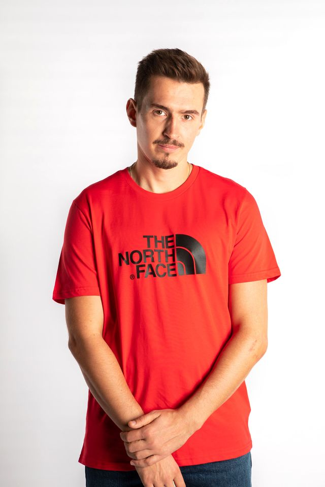 The North Face EASY TEE KZ3 TNF RED/TNF BLACK T92TX3KZ3
