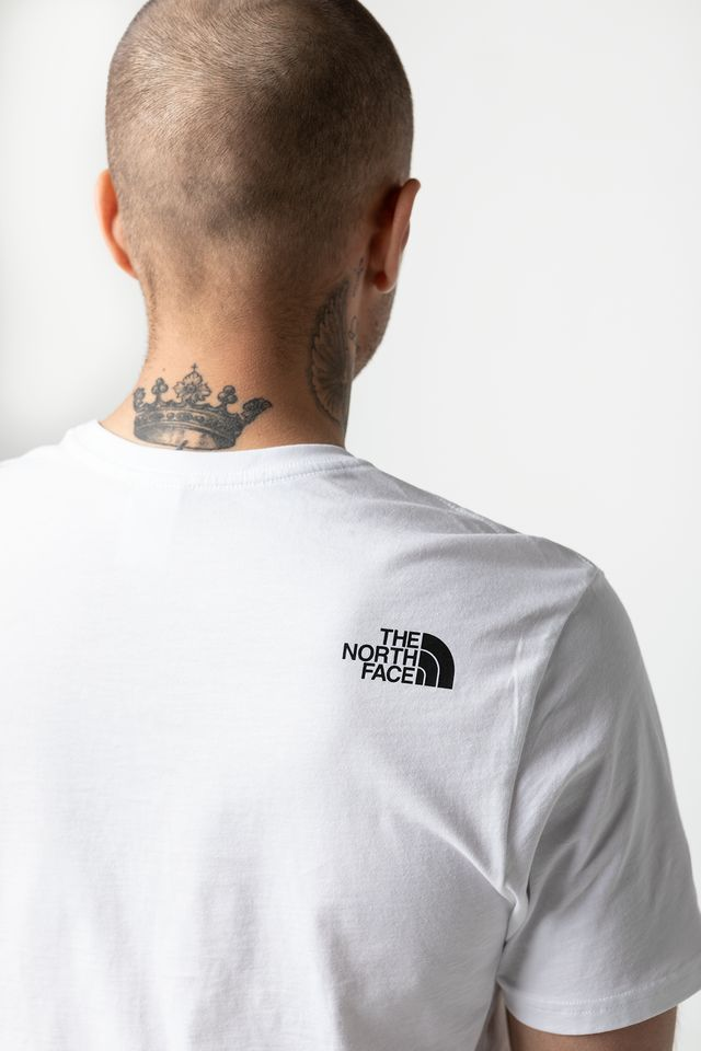 Koszulka The North Face  <br/><small>M S/S EASY TEE TNF WHITE </small>  T92TX3FN4