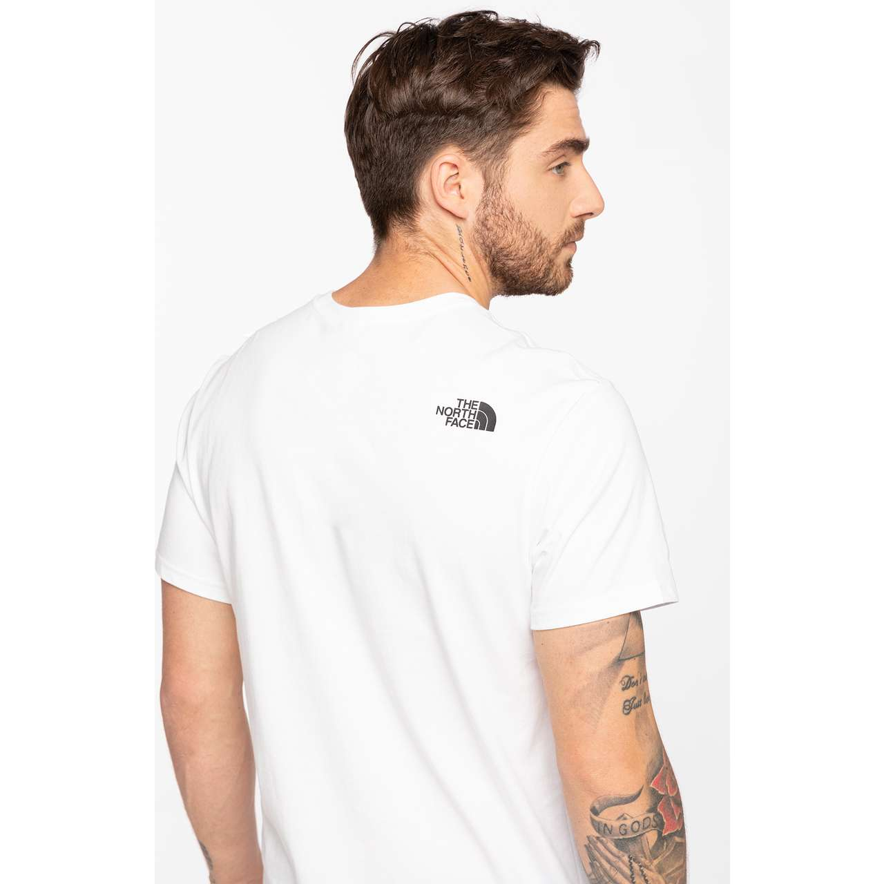 Koszulka The North Face  <br/><small>S/S FINE TEE 5LA TNF WHITE </small>  T0CEQ5LA9