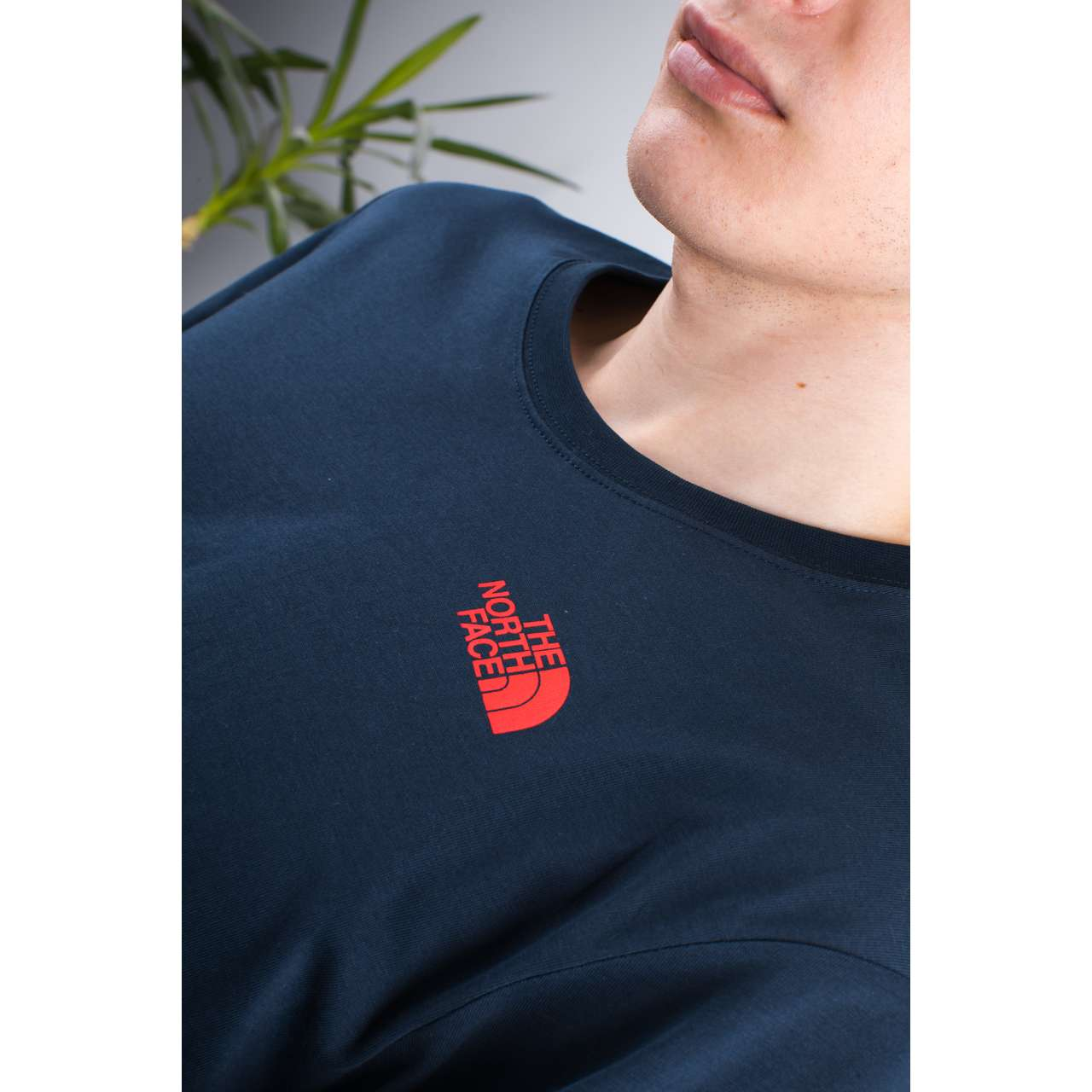 Koszulka The North Face  <br/><small>M S/S RED BOX TEE BER URBAN NAVY/FIERY RED </small>  T92TX2BER