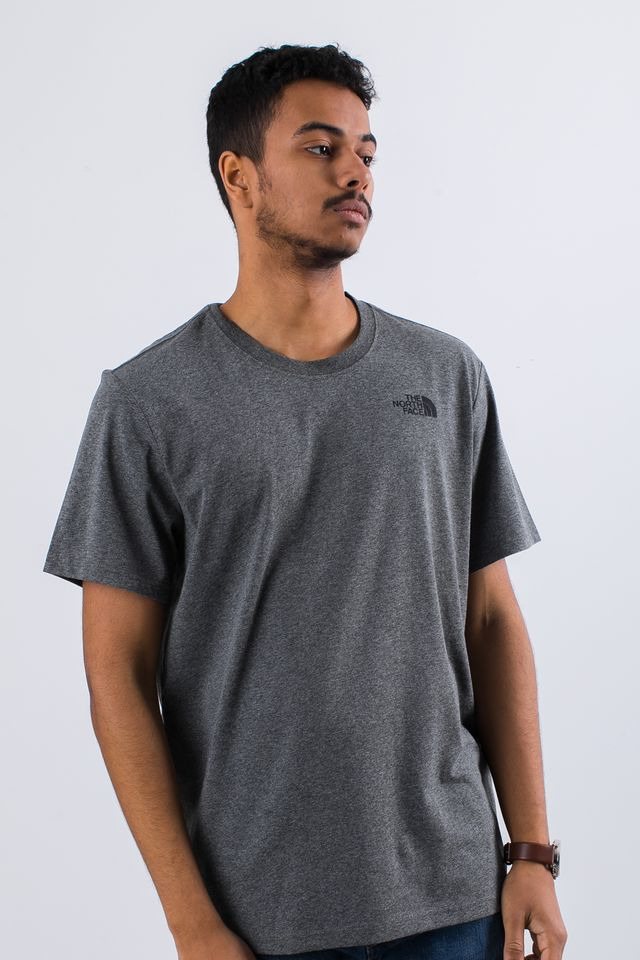 Koszulka The North Face  <br/><small>RED BOX TEE JBV MEDIUM GREY/HEATHER </small>  T92TX2JBV