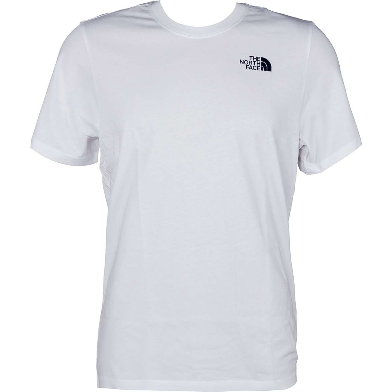 Koszulka The North Face  <br/><small>M SS REDBOX CEL TEE TNF WHITE/URBAN NAVY </small>  T92ZXESFT