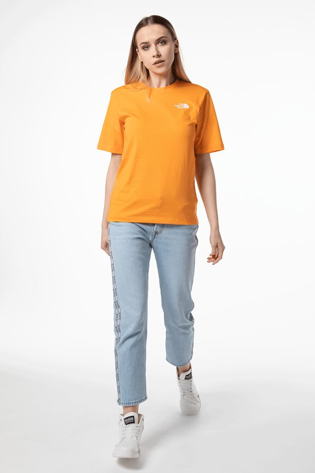 The North Face W BOYFRIEND SIMPLE DOME ECL ORANGE NF0A4CESECL