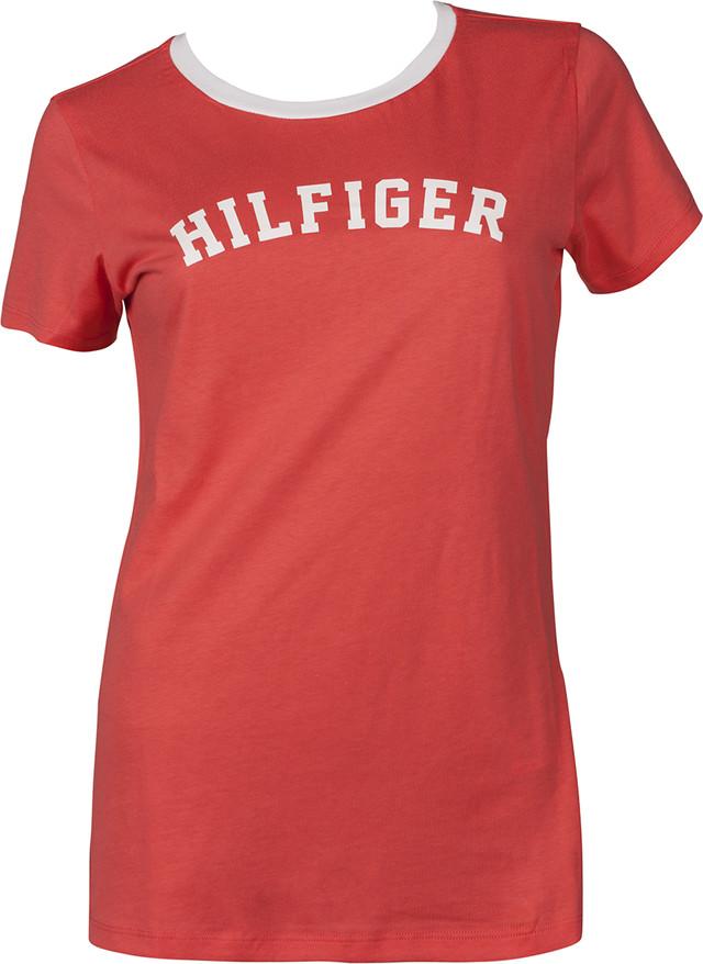 Tommy Hilfiger SS TEE PRINT 662 RED UW0UW00091-662