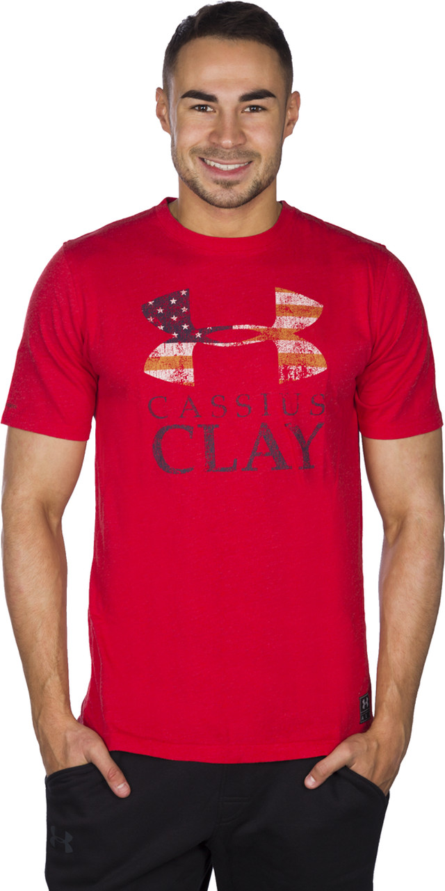 Under Armour Clay Sportstyle Triblend Tee 600 1287013-600