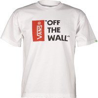 Koszulka Vans B Off The Wall WHT