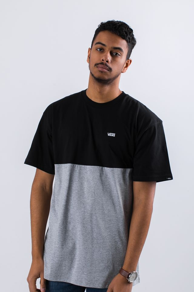 Vans COLORBLOCK TEE JGP BLACK/ATHLETIC VN0A3CZDJGP1