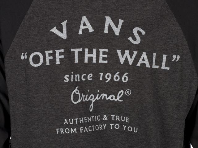 3c3a4b0f290bc ... T-shirt Vans <br/><small>M True Raglan ...