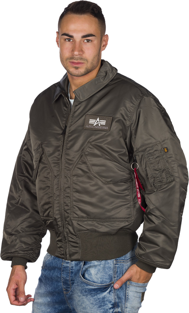 Kurtka Alpha Industries  <br/><small>Cwu 45 04 </small>  100102-04