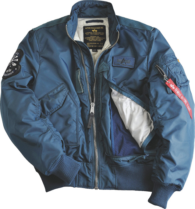 Kurtka Alpha Industries  <br/><small>ENGINE 352 BOLD BLUE </small>  103101-352