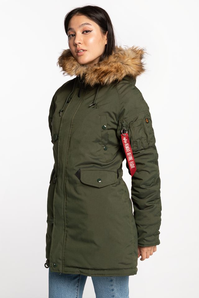 Alpha Industries EXPLORER WMN 257 DARK GREEN 103005-257
