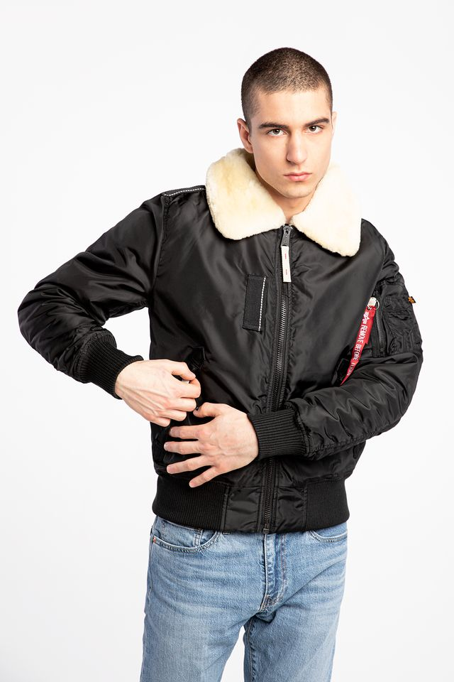 Alpha Industries INJECTOR III 461 BLACK/BEIGE 143104-461