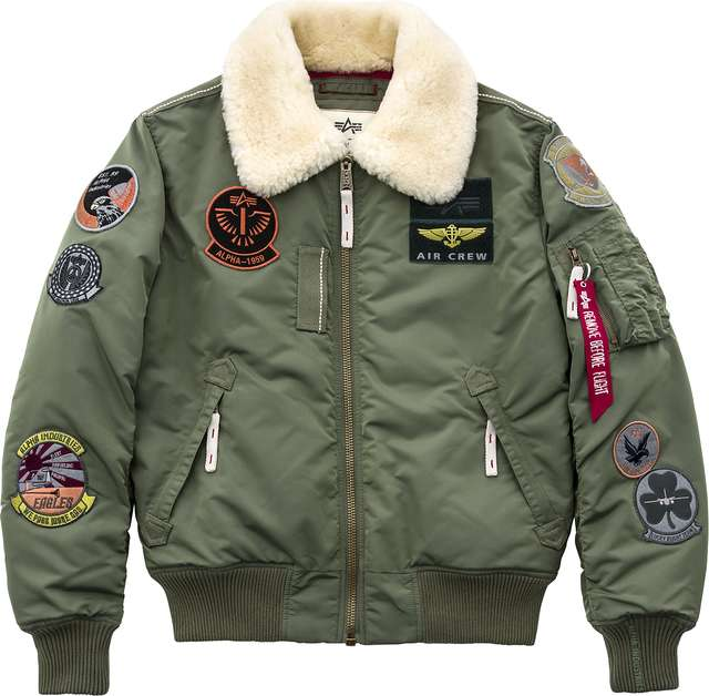 Alpha Industries INJECTOR III PATCH 01 SAGE GREEN 168128-01