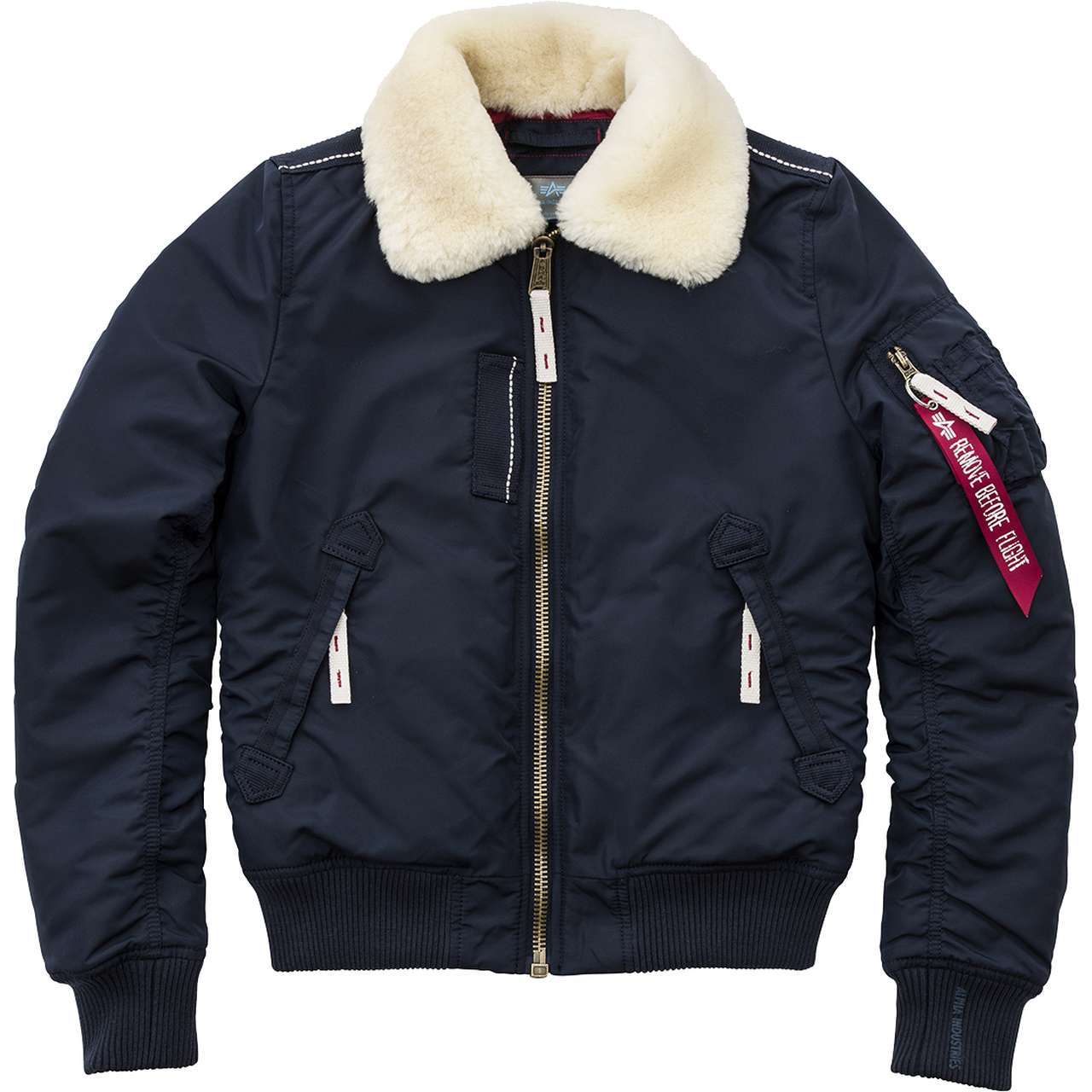 Kurtka Alpha Industries  <br/><small>INJECTOR III WMN 07 REP. BLUE </small>  143001-07