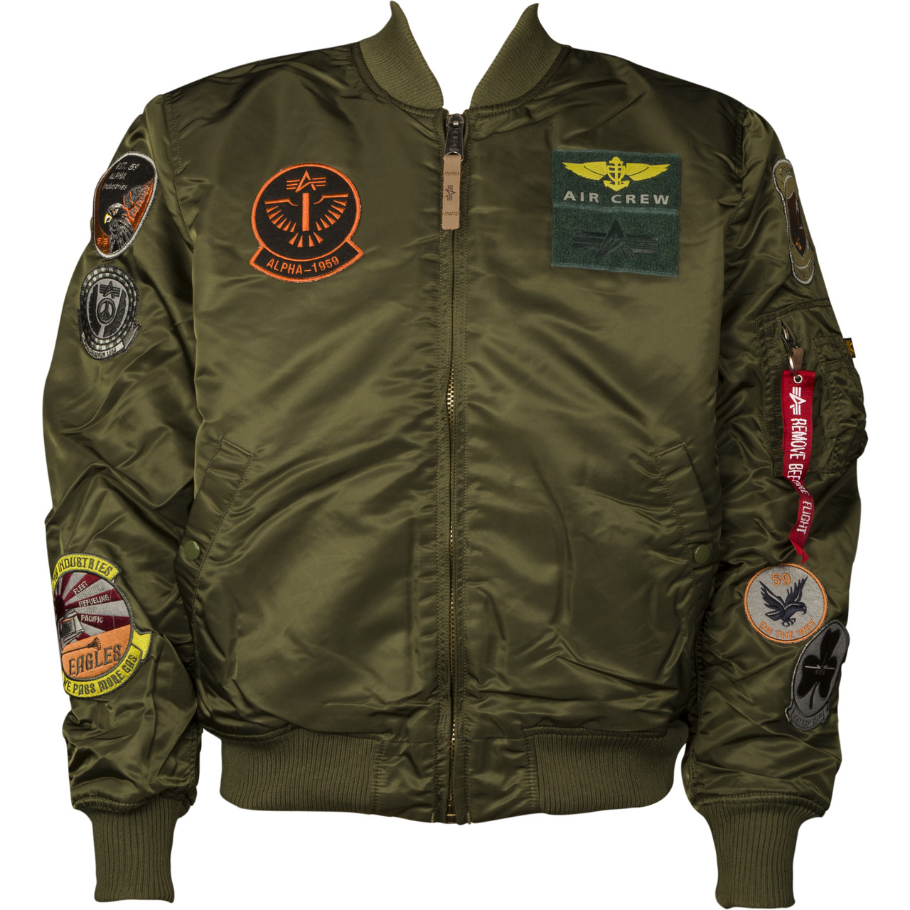 Kurtka Alpha Industries  <br/><small>MA-1 PILOT 257 DARK GREEN </small>  143121-257