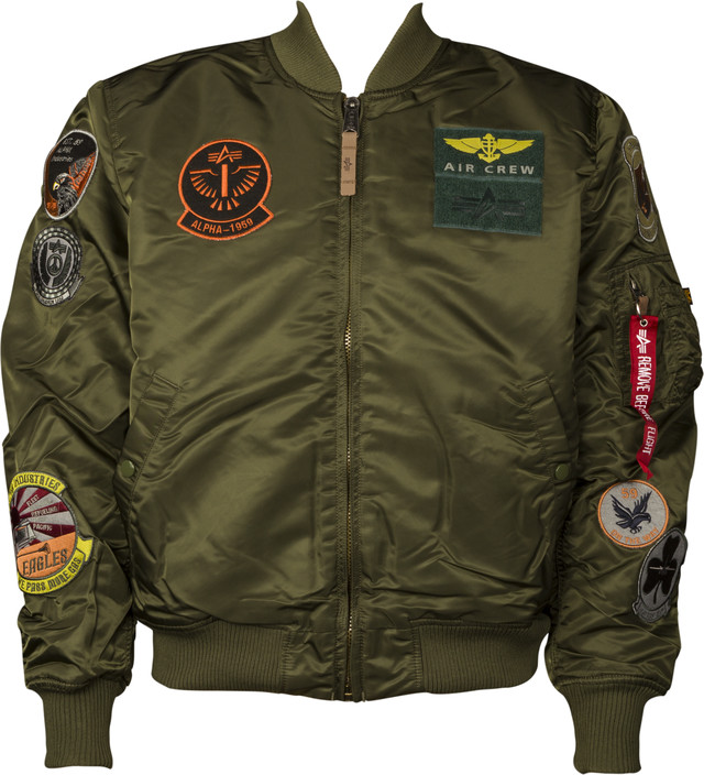 Alpha Industries MA-1 PILOT 257 DARK GREEN 143121-257