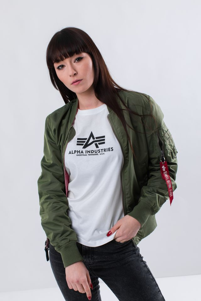 Alpha Industries MA-1 TT IP REVERSIBLE WMN 01 SAGE GREEN 176001-01