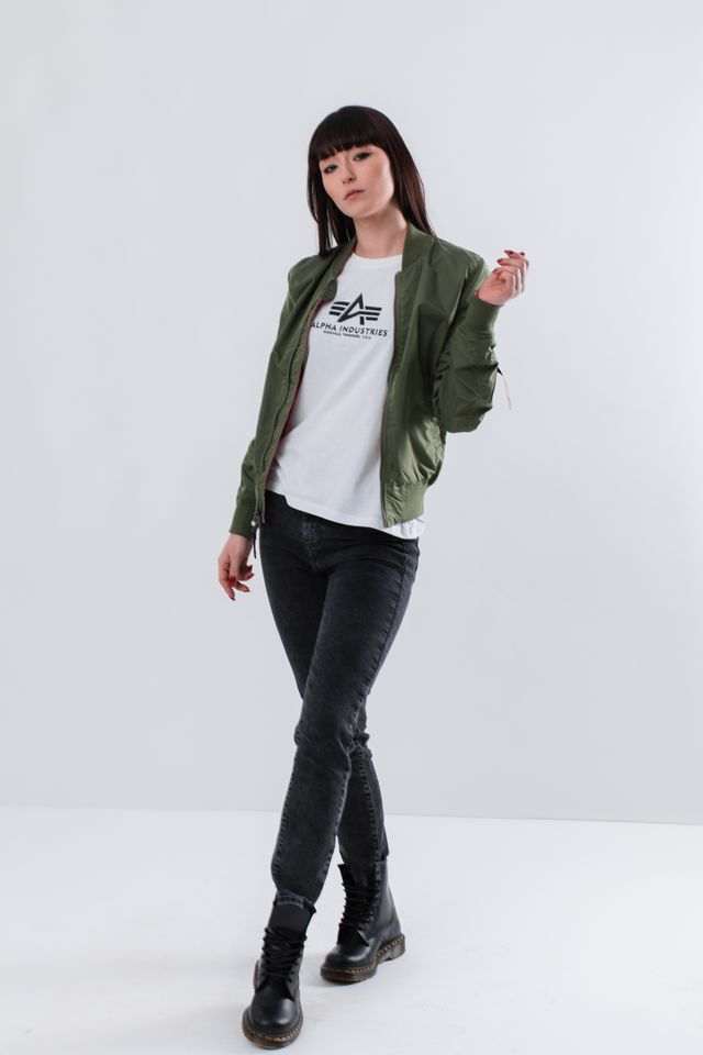 Kurtka Alpha Industries  <br/><small>MA-1 TT IP REVERSIBLE WMN 01 SAGE GREEN </small>  176001-01