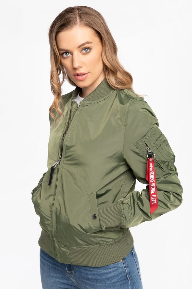 Alpha Industries Ma-1 TT Wmn Sage Green 141041-01