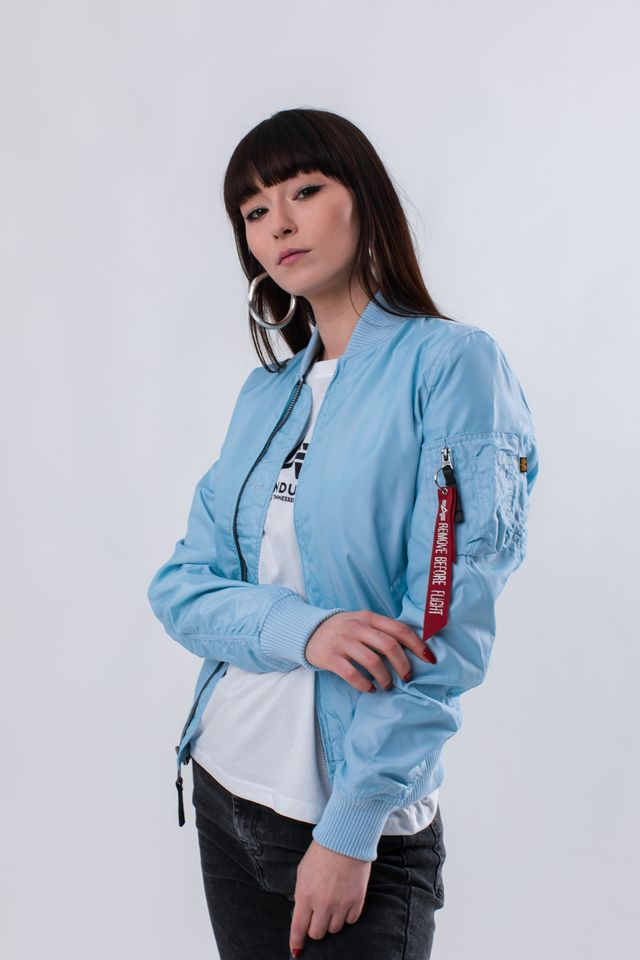Alpha Industries MA-1 TT WMN 398 AIR BLUE 141041-398