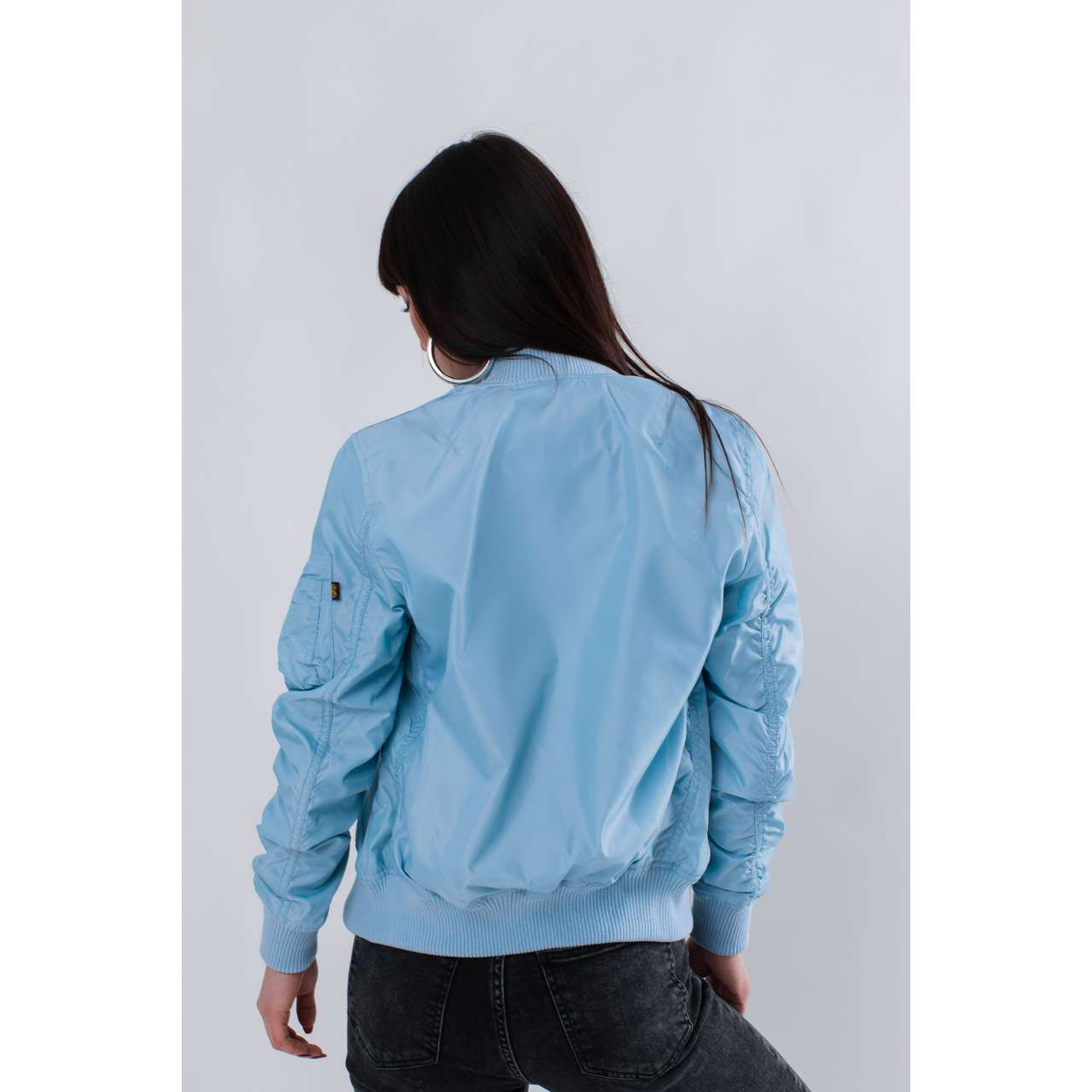Kurtka Alpha Industries  <br/><small>MA-1 TT WMN 398 AIR BLUE </small>  141041-398
