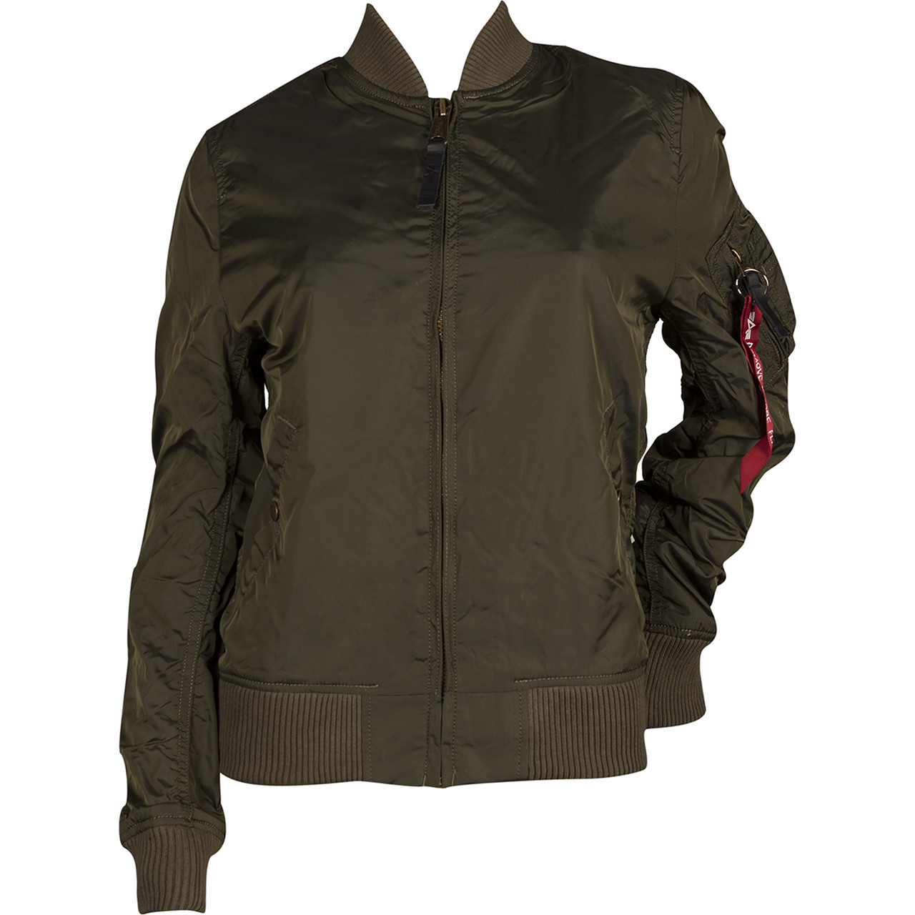 Kurtka Alpha Industries  <br/><small>MA-1 TT WMN 257 DARK GREEN </small>  141041-257